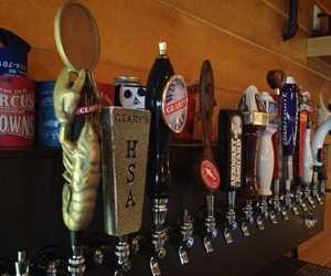 16 ice cold beers on tap